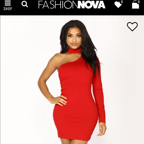 Fashion Nova Dresses | Red Dress | Poshmark